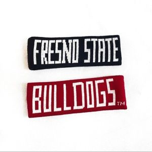 3 for $15 Fresno State Bulldogs Head Band